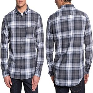 Quiksilver Fatherfly Long Sleeve Plaid Shirt